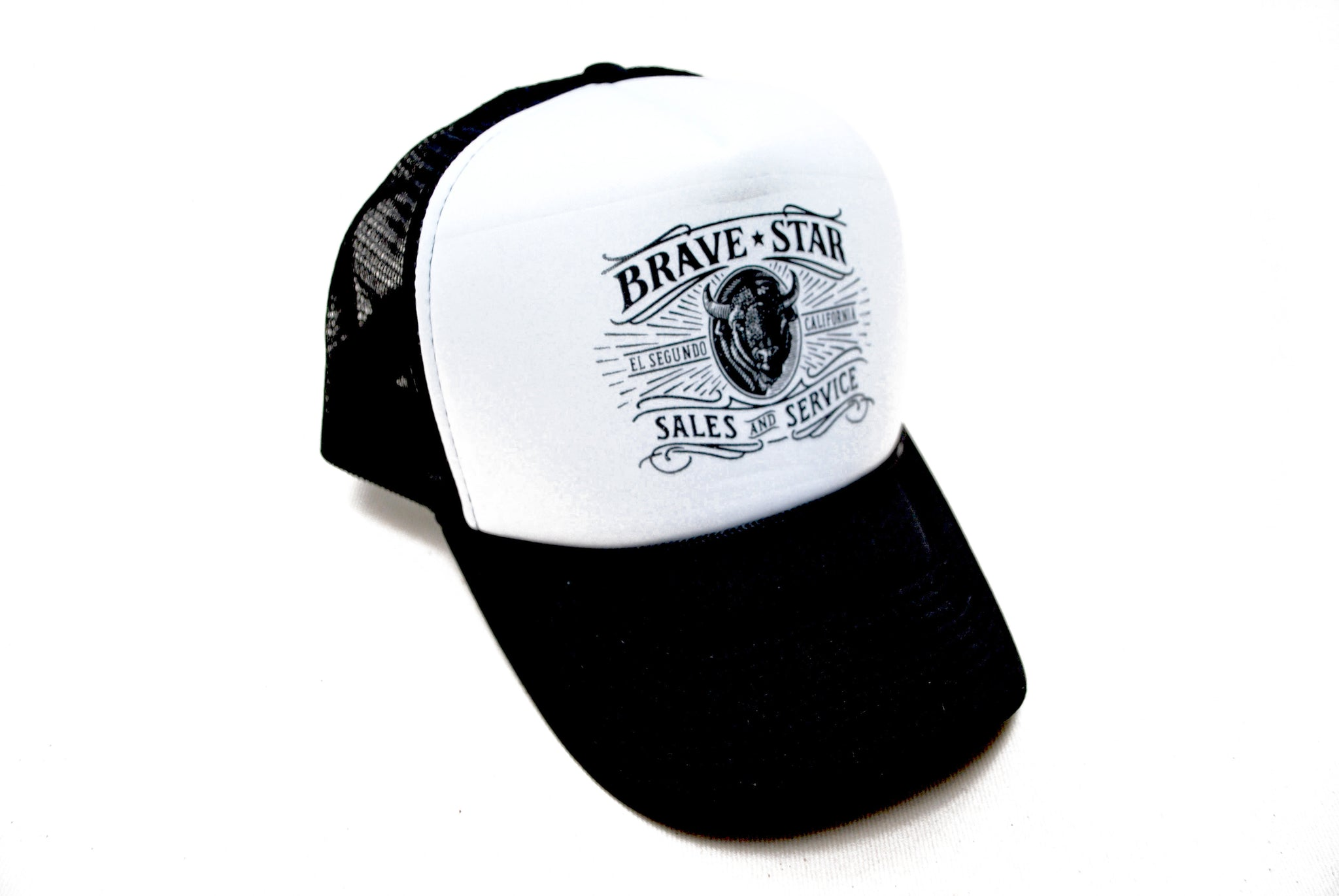 Shop Logo Mesh Snapback - Brave Star Selvage cd17d96df81d
