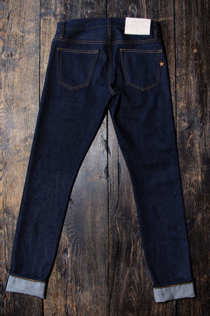The Skeleton Skinny 17oz 'Slubsessive' Japan Selvage