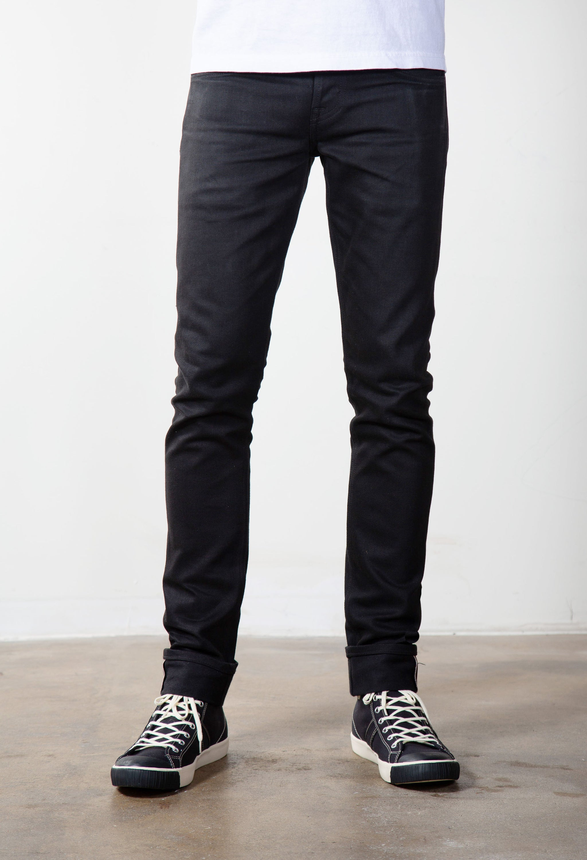 The Slim Taper 14oz Double Black Cone Mills Selvage Denim Pre Order