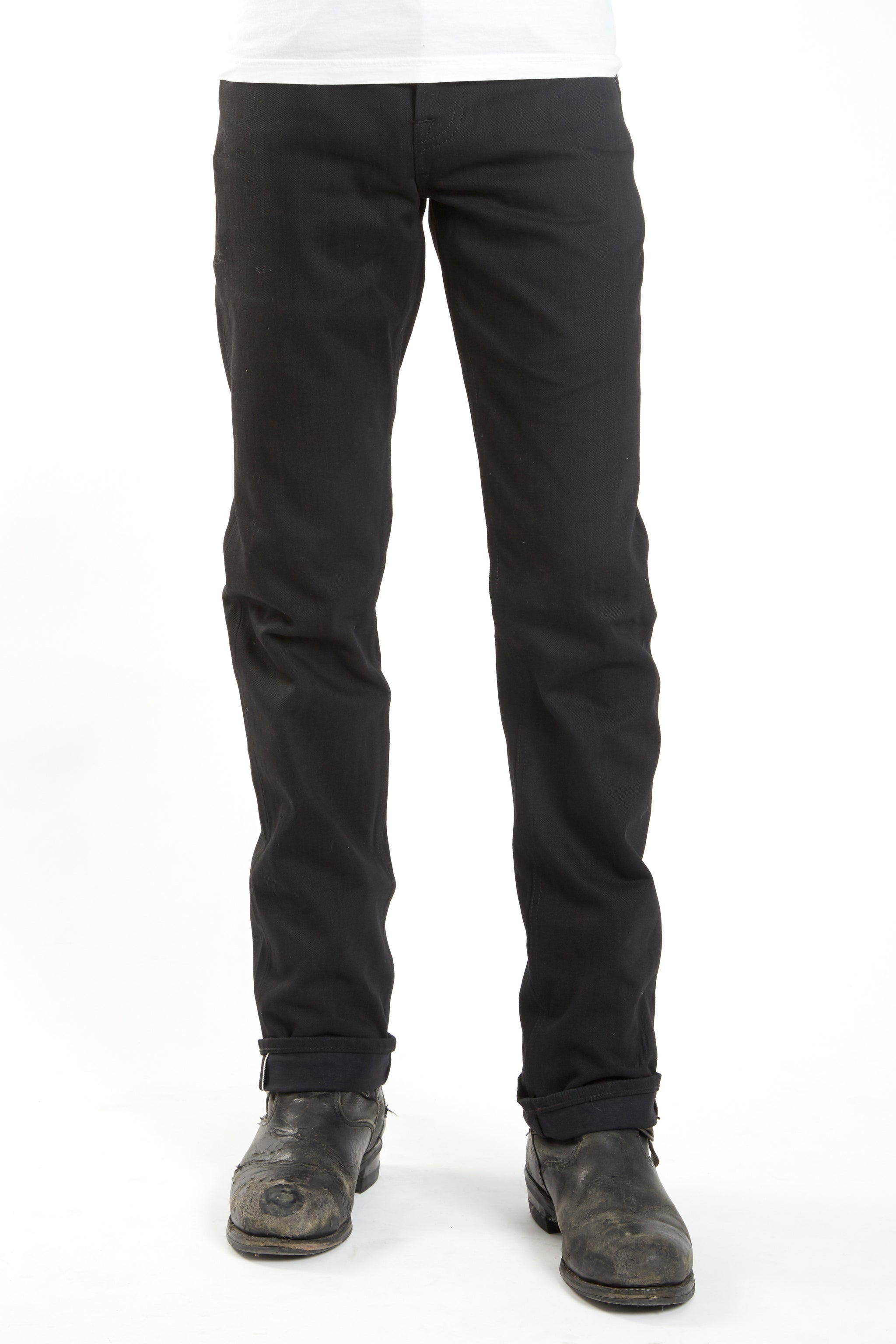 The True Straight 12.5oz 'Budokan Black' Stretch Selvage Denim