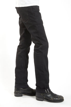 Heavyweight Double Black Selvedge Japan Denim Made in USA