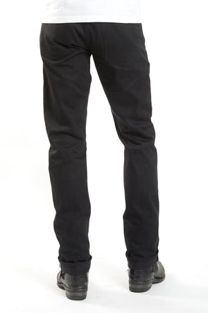 Made in USA Heavyweight Double Black Selvedge Denim