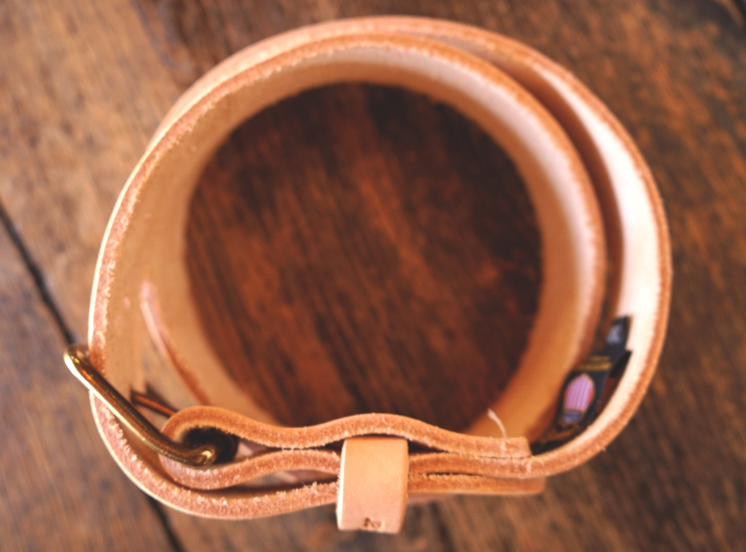 The Raw Leather Belt