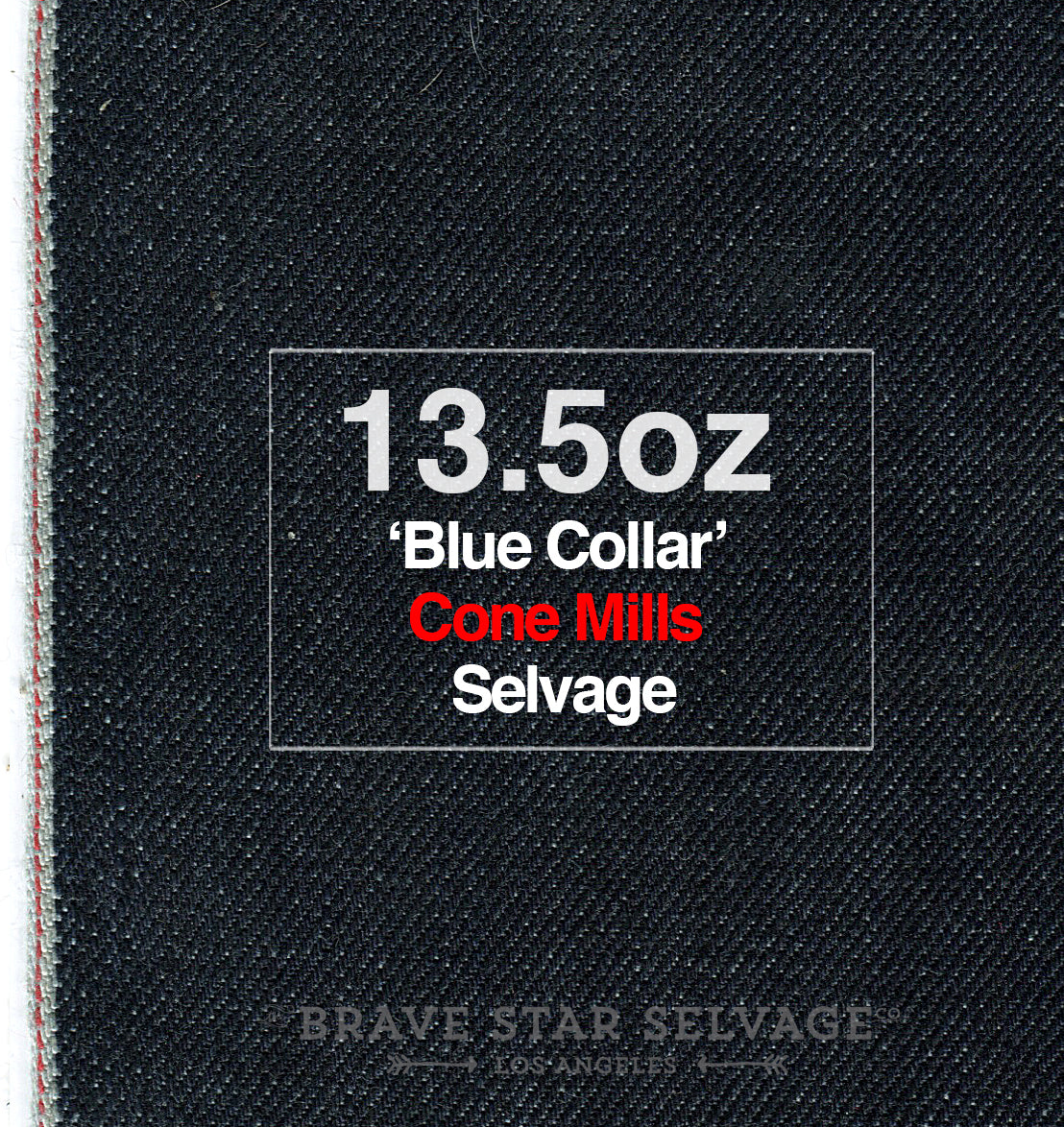 The Skeleton Skinny 13.5oz 'Blue Collar' Cone Mills Selvage Pre Order