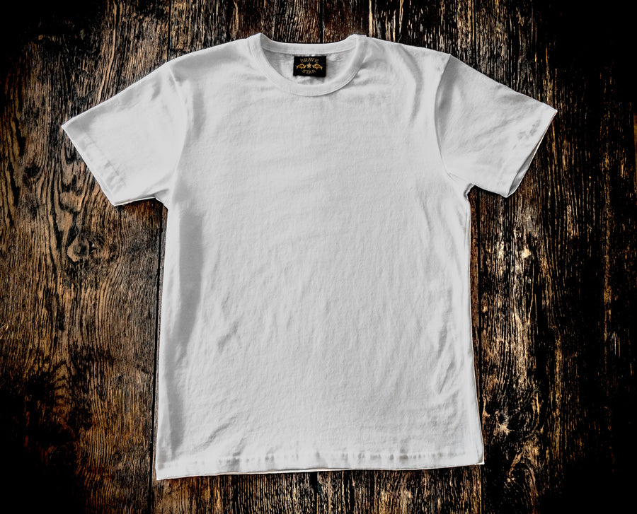 Glory Days 8.5oz Ultra-Heavyweight Cotton T-Shirt Two -Pack White