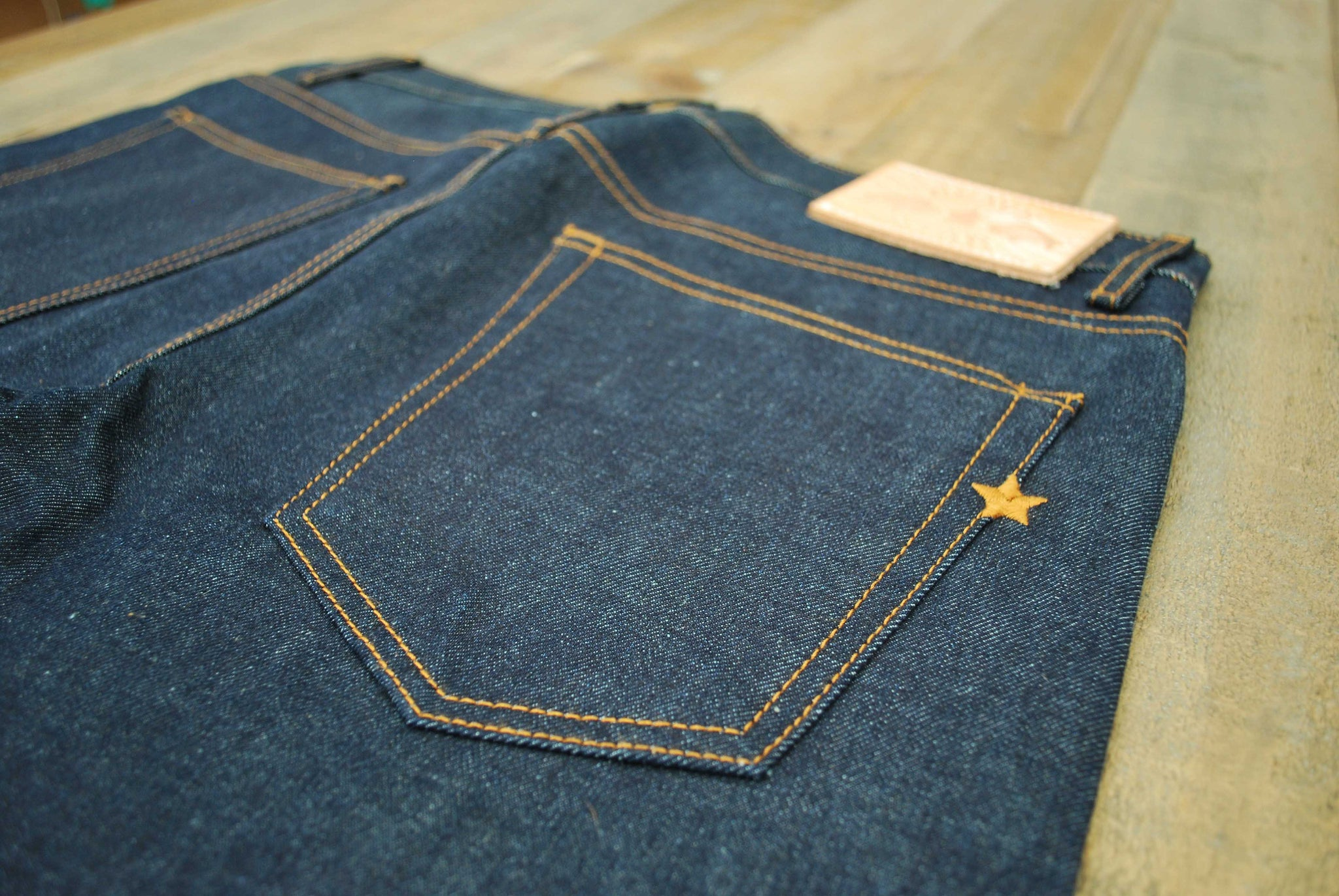 The True Straight 14oz ' Unfinished' Cone Mills Selvage