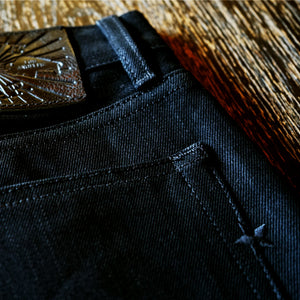 The True Straight Heavyweight 15oz Double Black Selvage