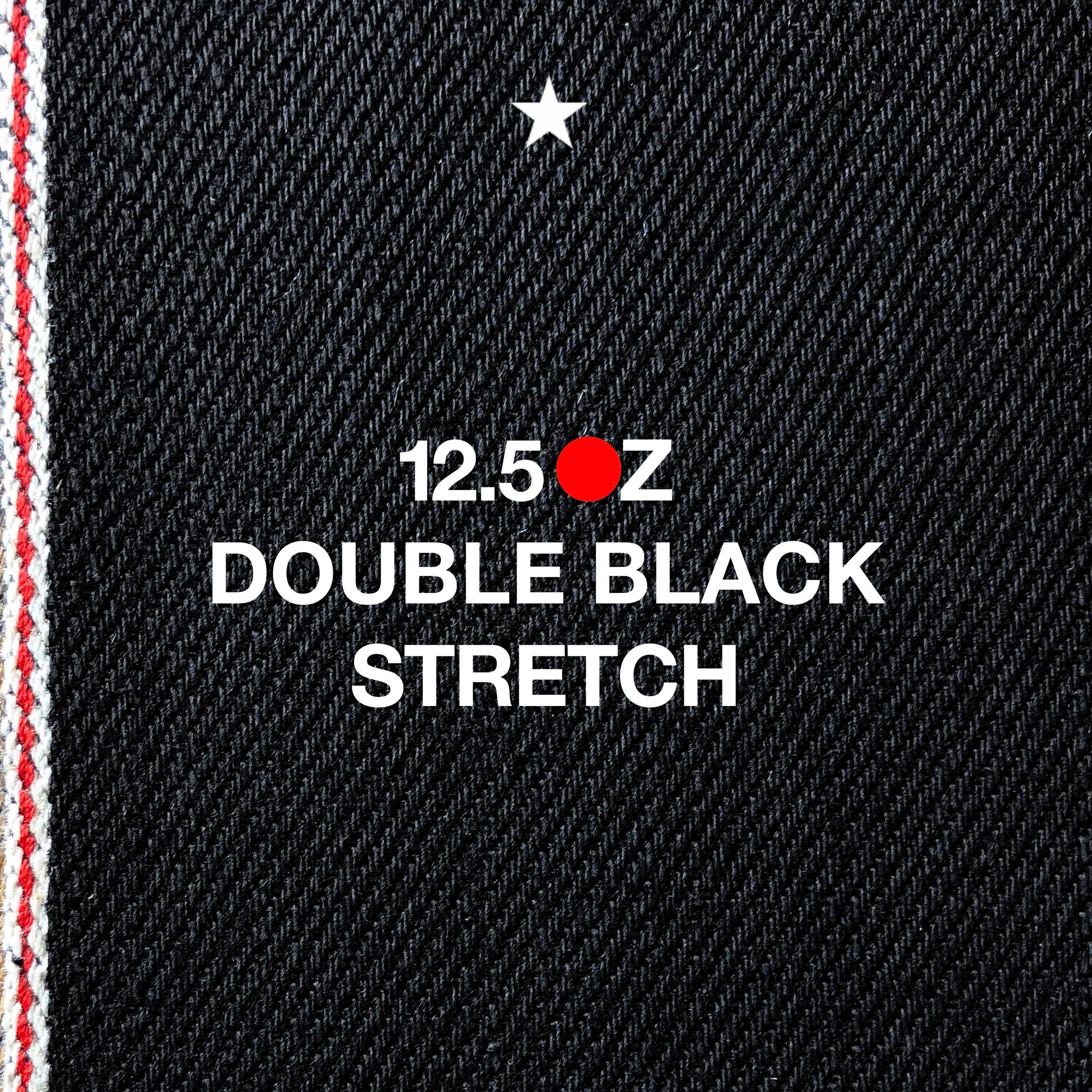 The Slim Straight 12.5oz 'Budokan Black' Stretch Selvage