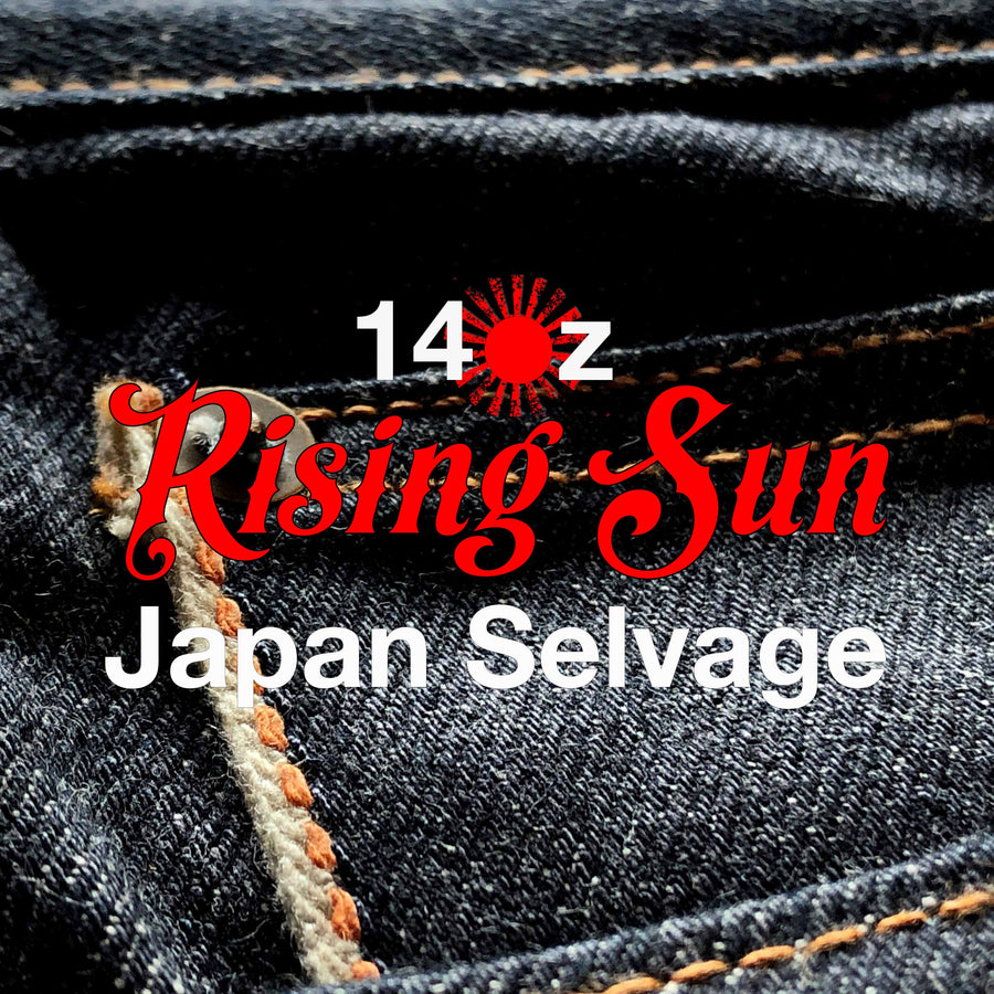 The Regular Taper 14oz 'Rising Sun' Japan Selvage