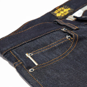 The Slim Straight 13.5oz Cone Mills 'Heartland' Selvage