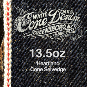 The Ironside 13.5oz Cone Mills 'Heartland' Selvage