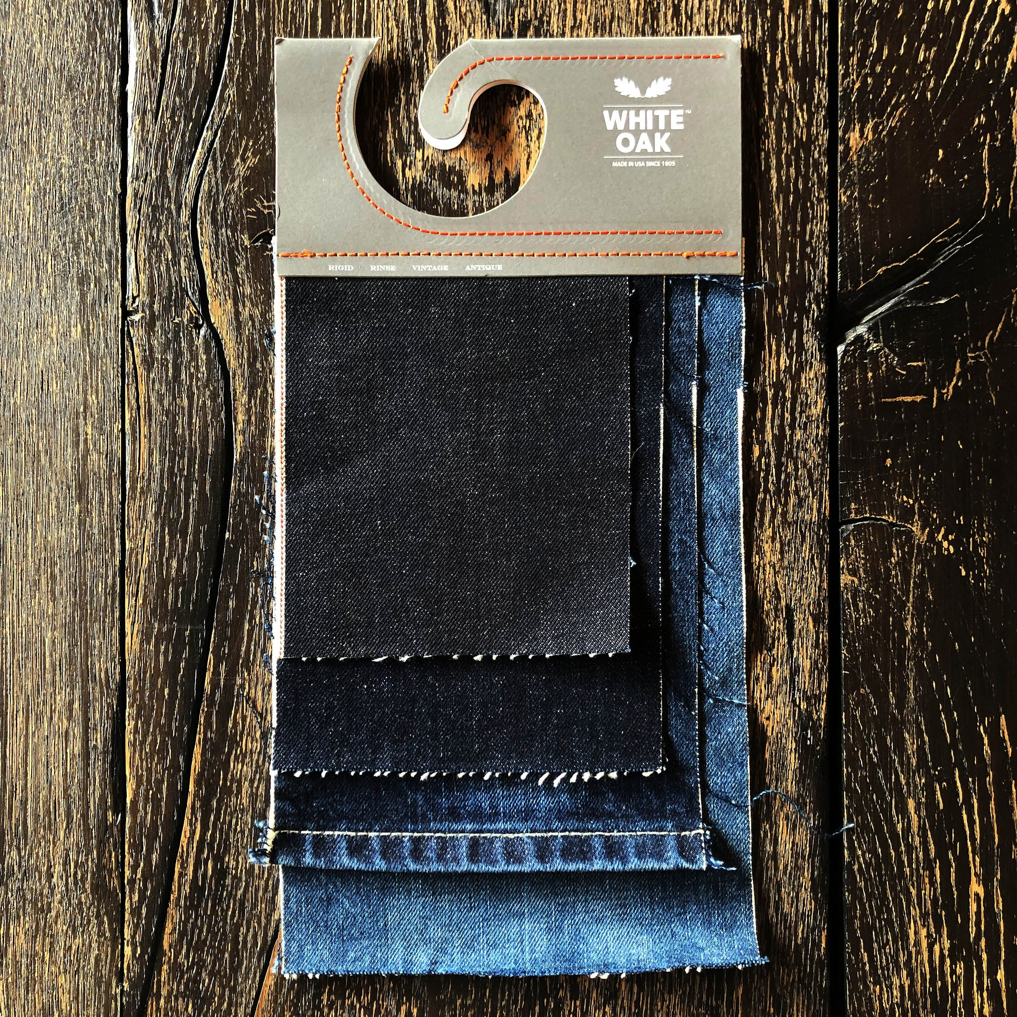 The Ironside 14.5oz 'Homespun' Cone Mills Selvage Pre Order