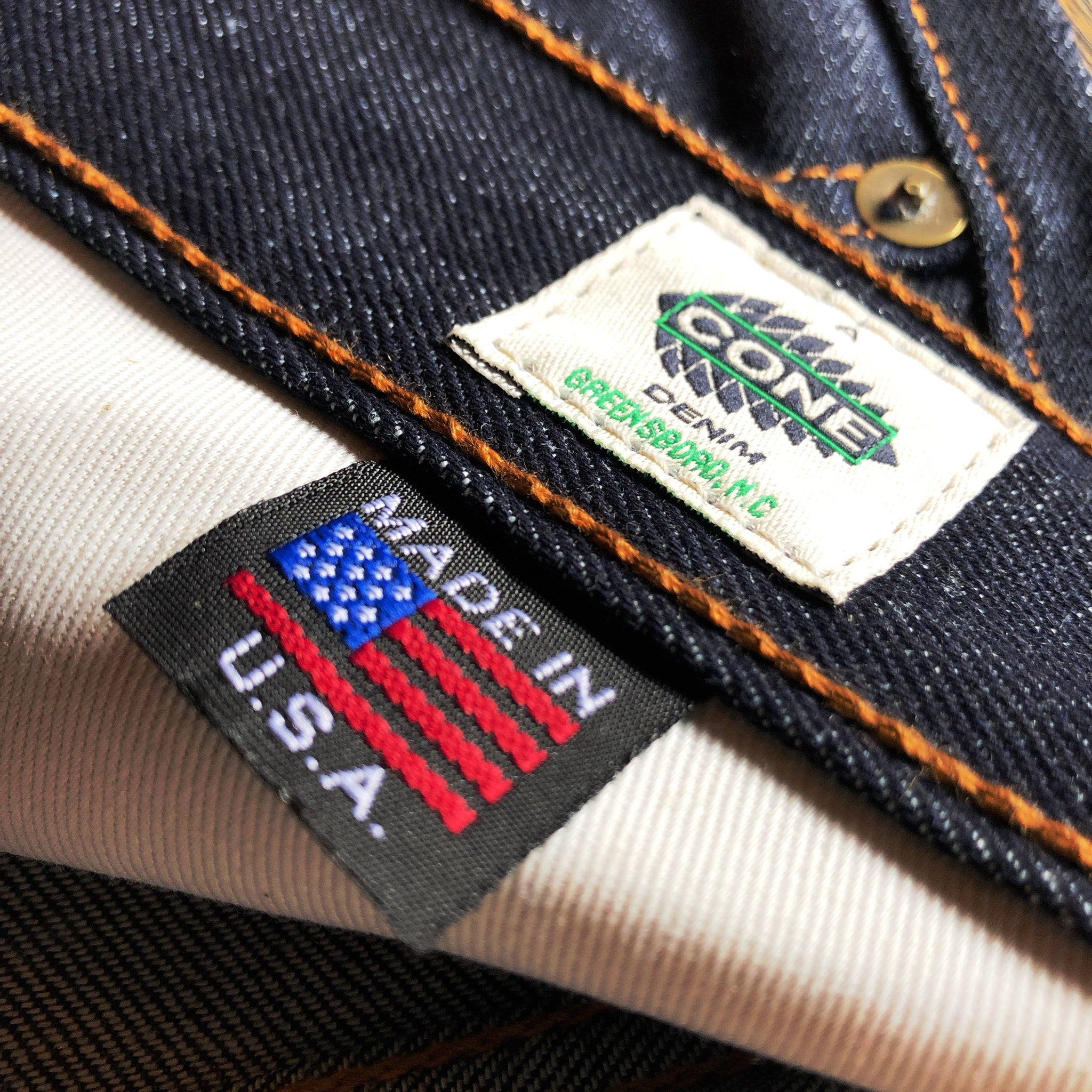 The Slim Straight 12.5oz 'Blue Ridge' Cone Mills Selvage