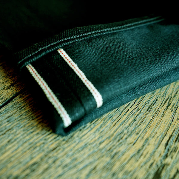 The Regular Taper 14oz Double Black Cone Mills Selvage Denim