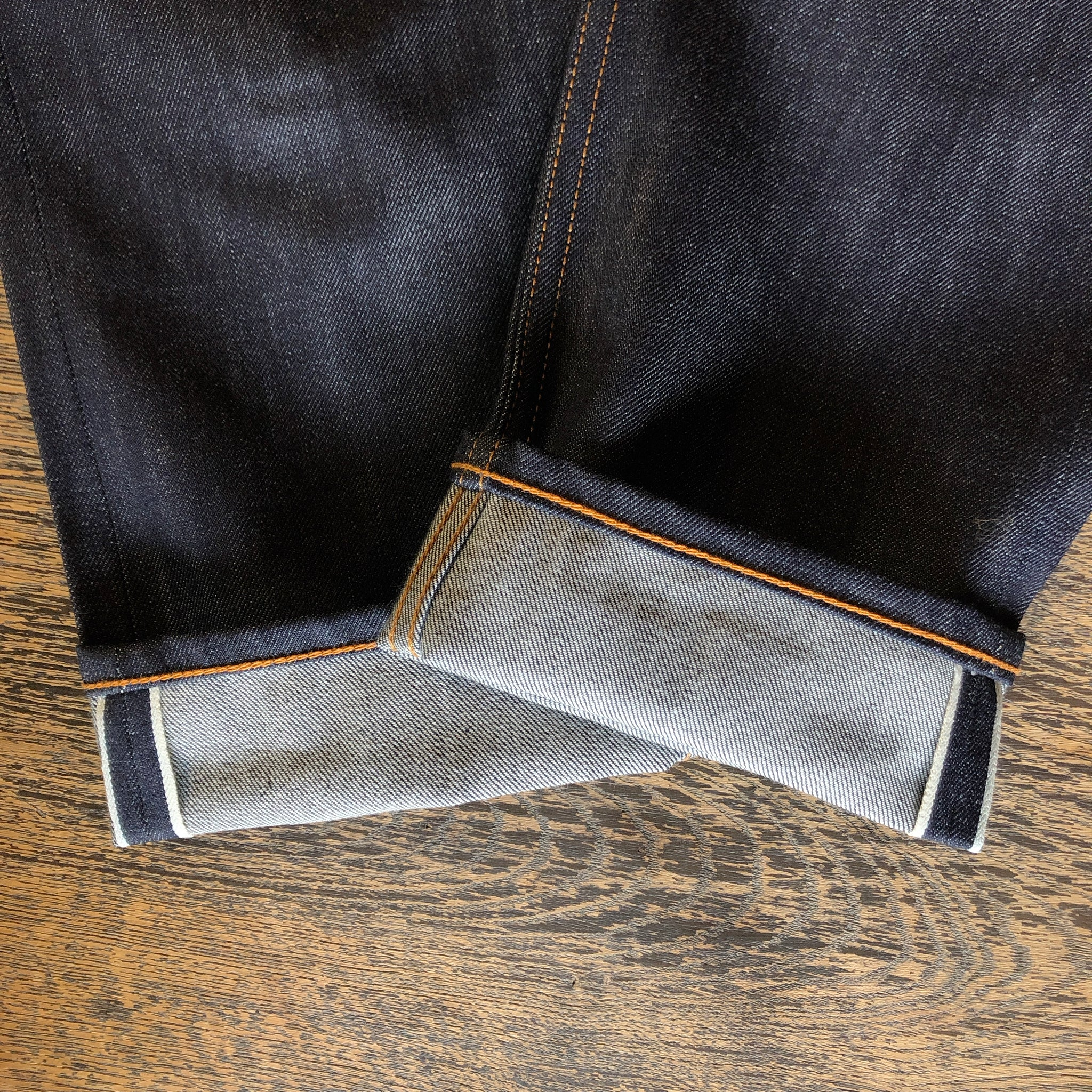 The True Straight 14oz 'White Oak' Cone Mills Selvage