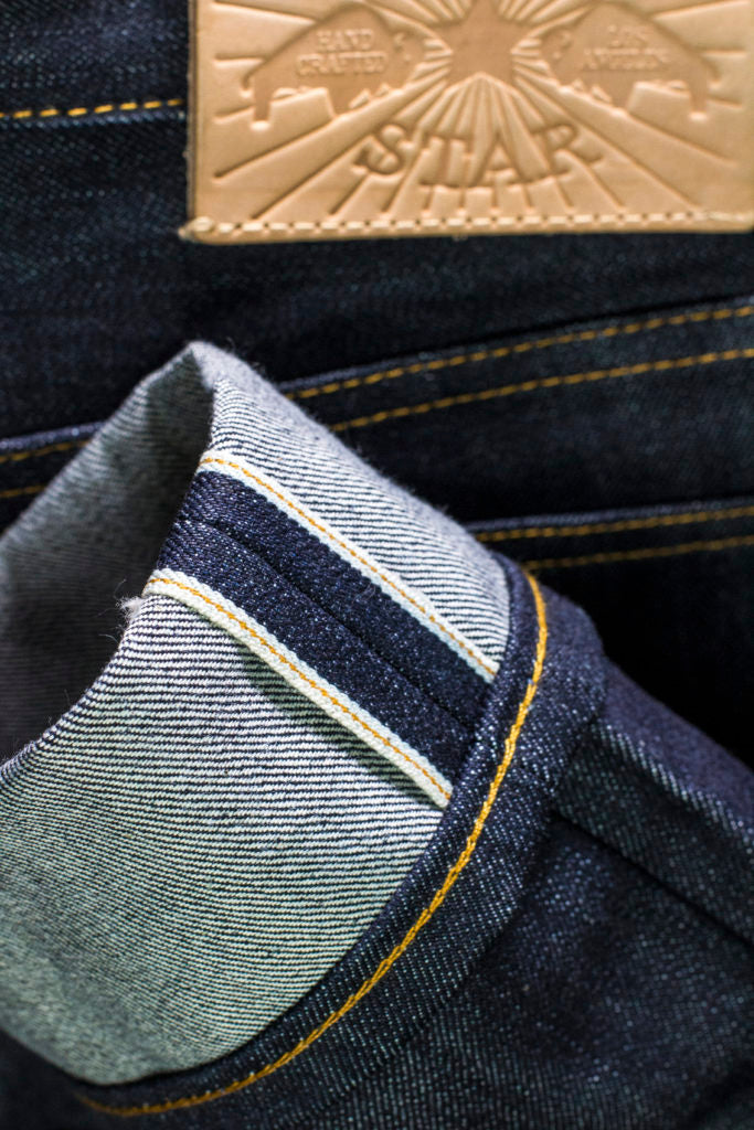 The True Straight 13.75oz ' Multi Yarn' Cone Mills Selvage