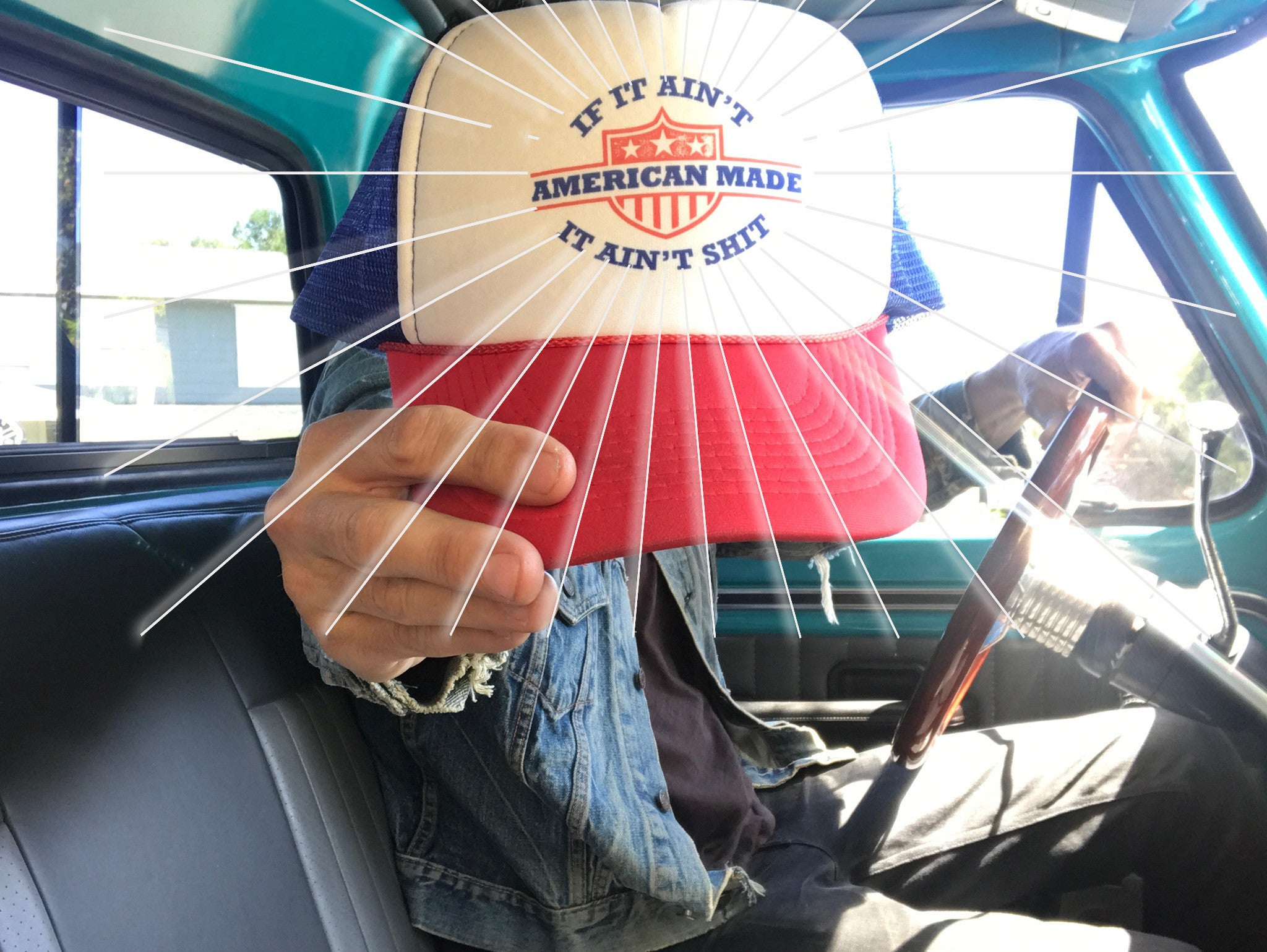 If It Ain t American Made Mesh Snapback - Brave Star Selvage a7e777cefe1