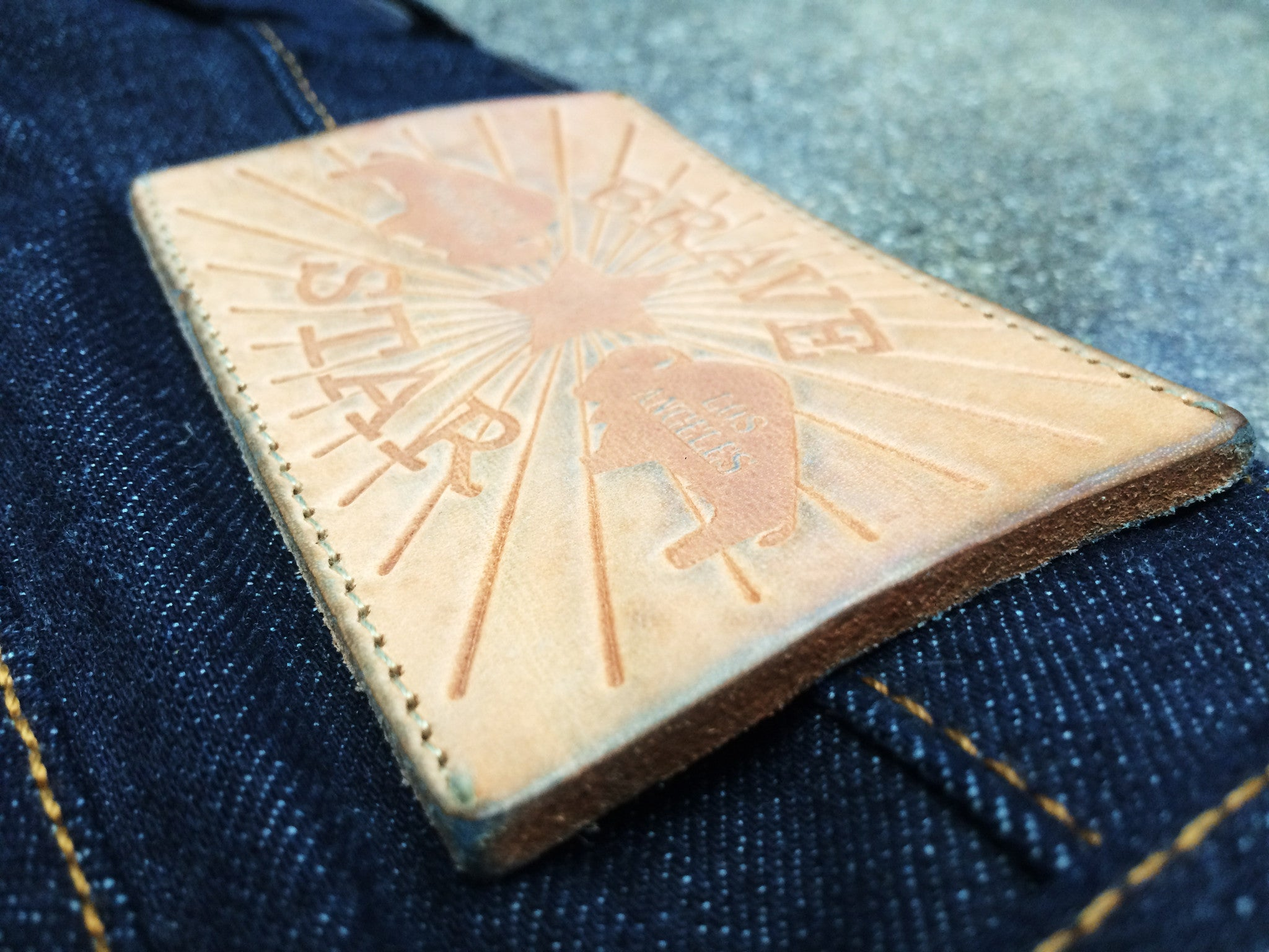 The Slim Taper 14oz 'Unfinished' Cone Mills Selvage