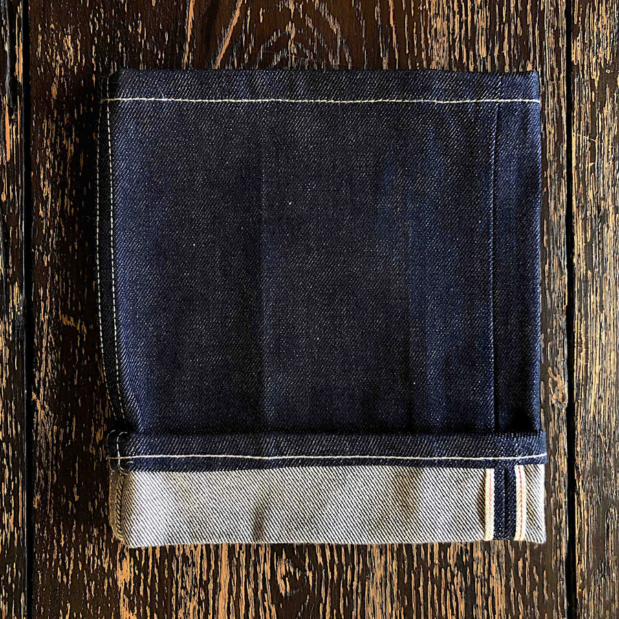 The Regular Taper 14oz 'Golden Handshake' Cone Mill Selvage