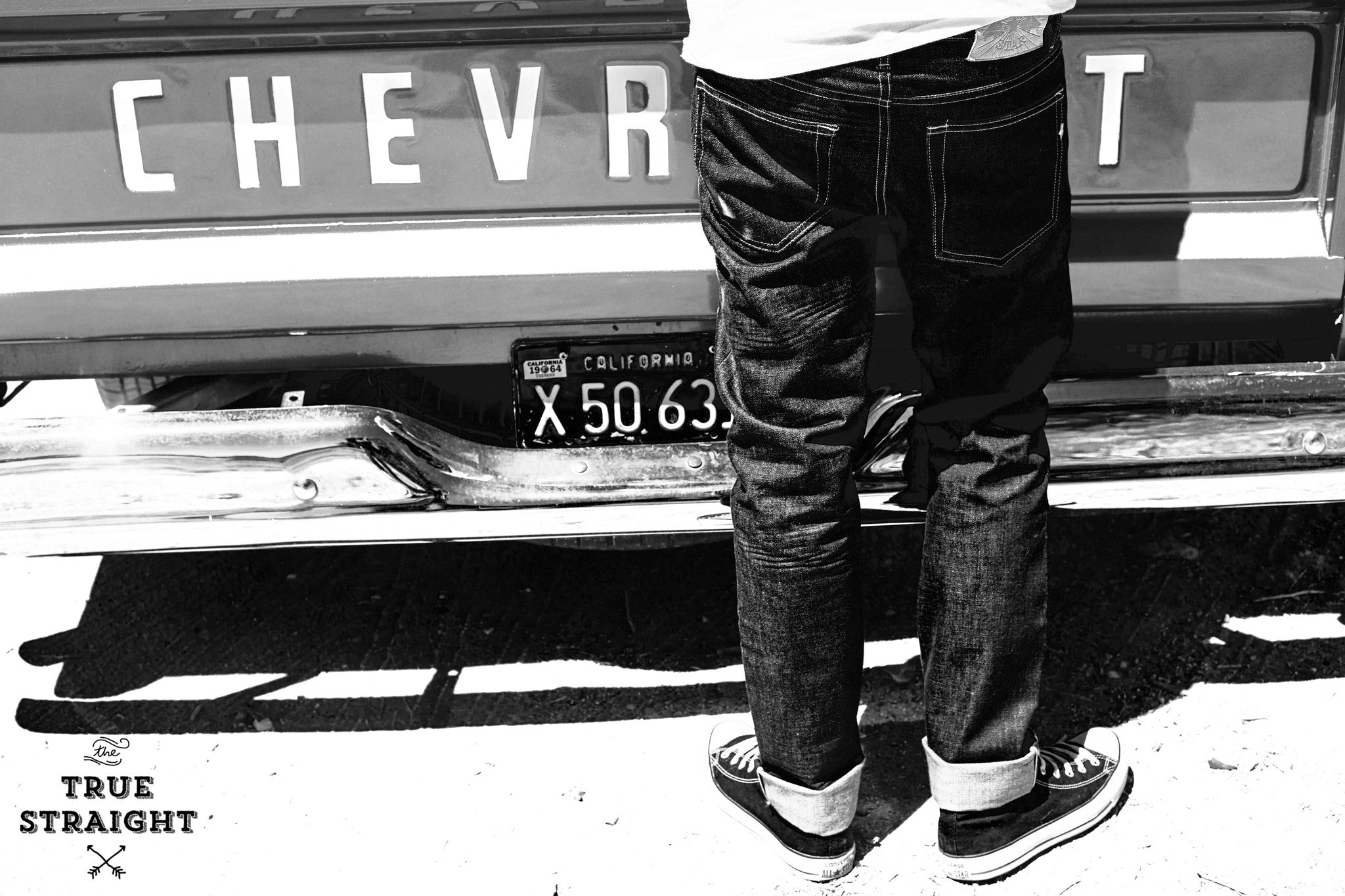 The True Straight 15oz 'Heavy Sky' Japan Selvage