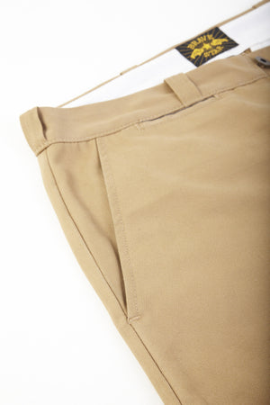 Selvage Khaki Chino Made in America 8.8oz Cramerton Cloth