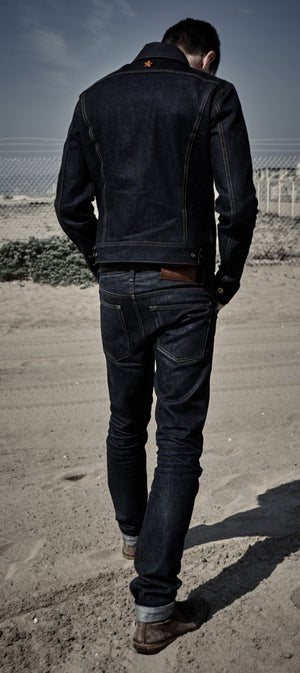 The Steadfast 'Rider' Selvedge Denim Jacket