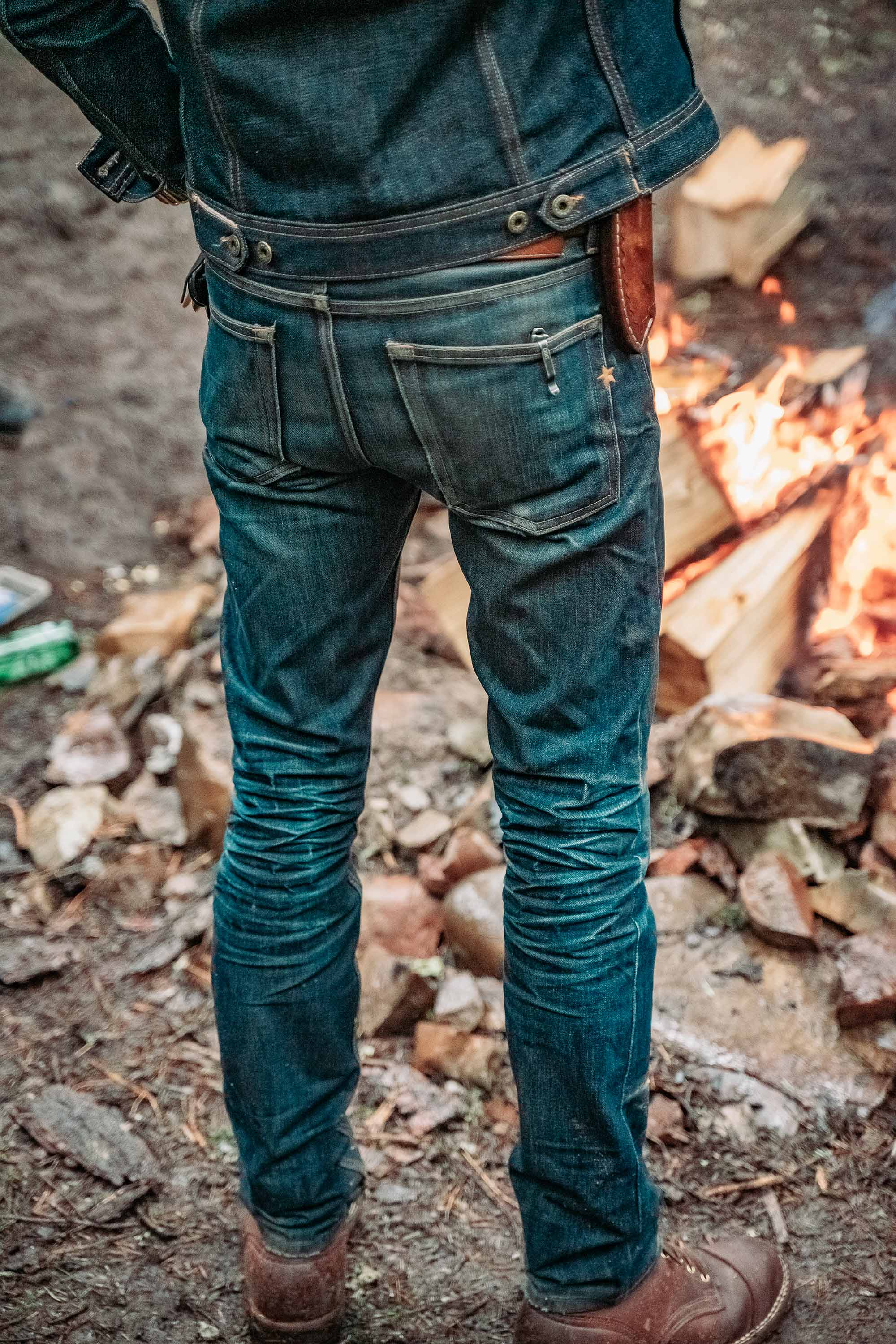 The True Straight 12oz 'Woodsman' Cone Mills Selvage Denim Pre Order