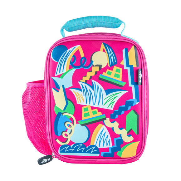 Sydney Opera House Kids Lunch Box - Pink