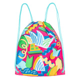 Sydney Opera House Kids Drawstring Bag - Pink