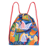 Sydney Opera House Kids Drawstring Bag - Blue