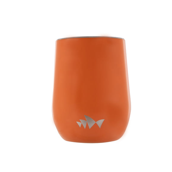 Reusable Stainless Steel Cup - Orange