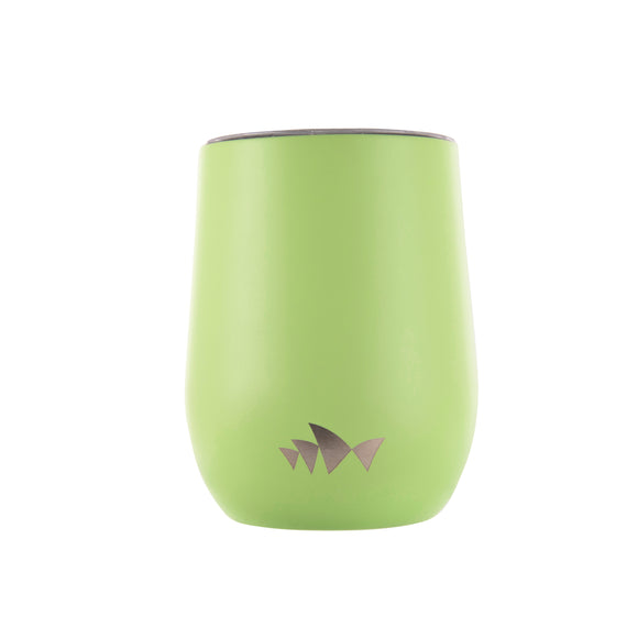 Reusable Stainless Steel Cup - Green