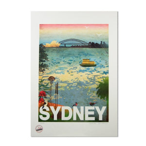 Sydney Harbour Art Print (Large)