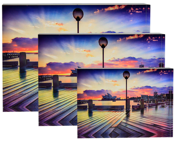 Boardwalk Acrylic Block