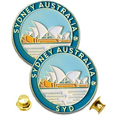 Sydney Opera House Monda Pin Set of 2