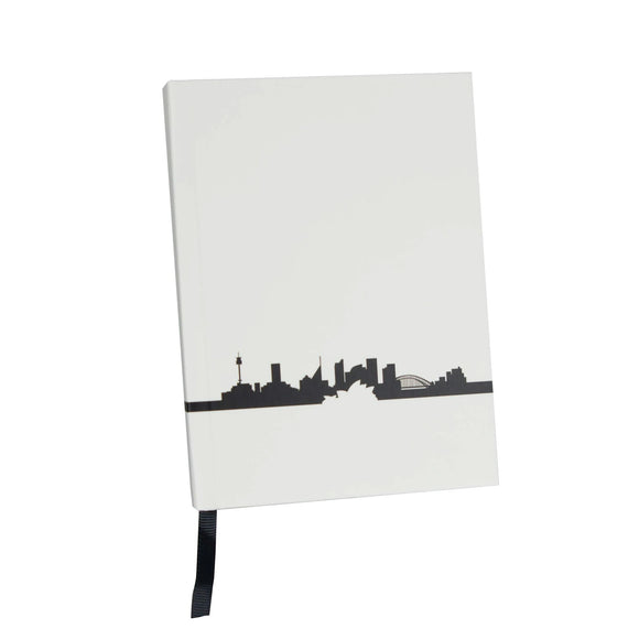 Notebook - Skyline Collection White