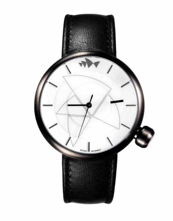 Bausele Gunmetal Watch - Black