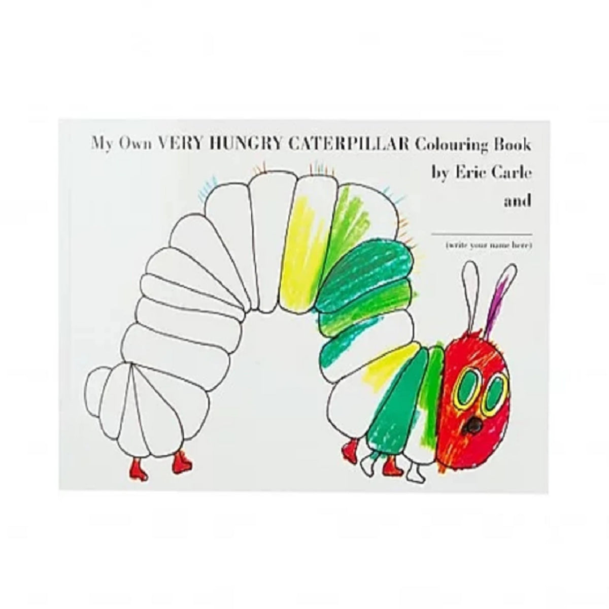 - My Own Very Hungry Caterpillar Colouring Book – Sydney Opera House