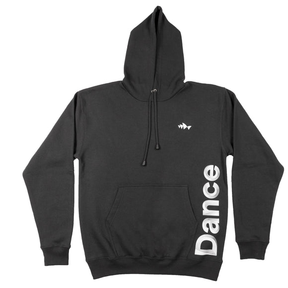 3D Font Collection Adult Unisex Black Hoodies - Dance