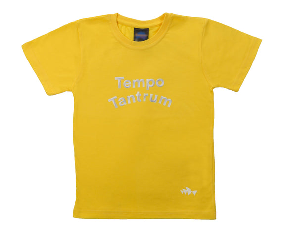 3D Font Collection Kids Tee - Tempo Tantrum