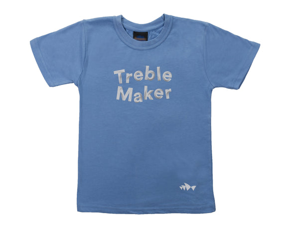 3D Font Collection Kids Tee - Treble Maker