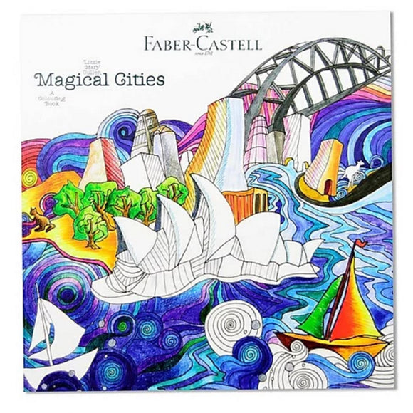 Magical Cities Colouring Book