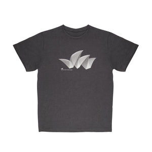 Sydney Opera House Pureform Men's T-Shirt Grey