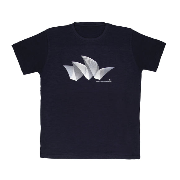 Sydney Opera House Pureform Men's T-Shirt Navy