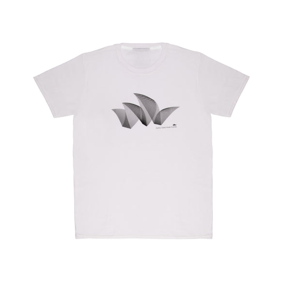 Sydney Opera House Pureform Men's T-Shirt White