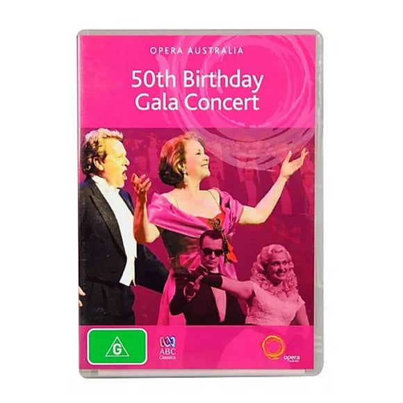 Opera Australia 50th Birthday Gala Concert DVD