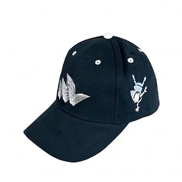 Pureform Kids Cap - Navy