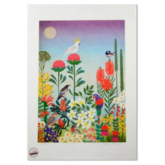 Aussie Flowers Art Print