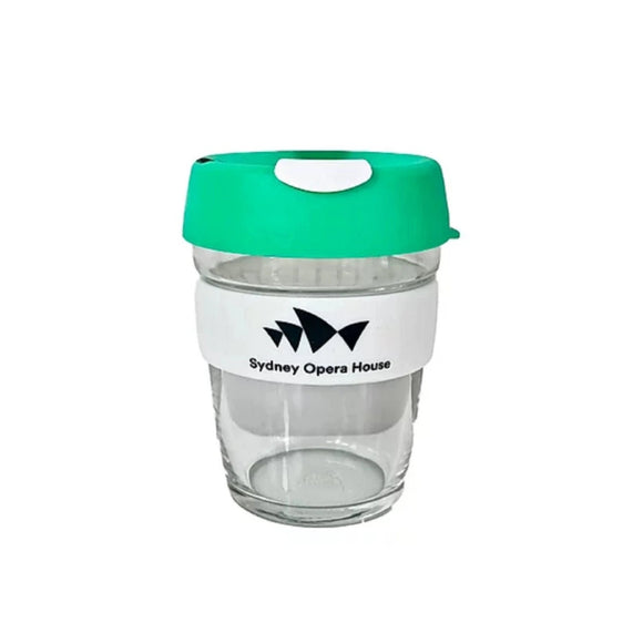 KeepCup (Glass) - Green - Sydney Opera House