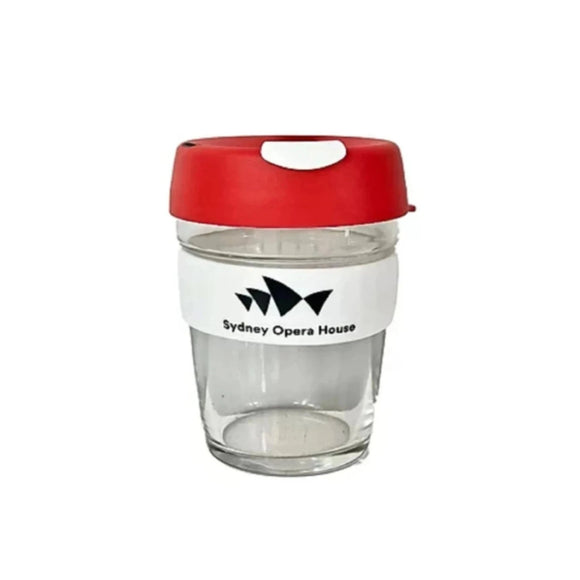 KeepCup (Glass) - Red - Sydney Opera House